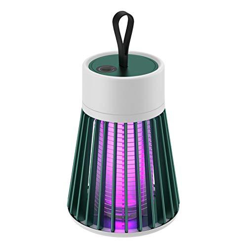 Lámpara De Asesino De Mosquitos Electrónicos, Recargable Y Revestimiento De Insectos Alimentados Por USB, Trampa De Mosquitos De Luz UV Portátil Para Patio Interior Aire Libre Patio Viajando Caminando