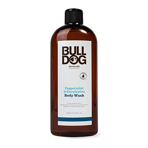 (15% OFF Coupon) Bulldog Men's Body Wash, Peppermint & Eucalyptus $6.37