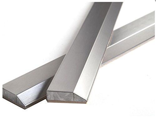 12 inch Stainless Steel Metal Bullnose Border Edge Trim Glass, Decorative Wall and Backsplash Tile Finished