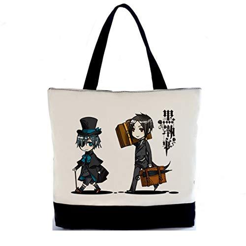 YOYOSHome Black Butler Anime Kuroshitsuji Cosplay Handtasche Rucksack Schultertasche