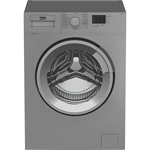 Beko WTL74051S 7kg 1400rpm Freestanding Washing Machine - Silver