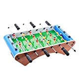 Indoor Soccer Game w/Footballs Table Set for Adults Arcades Parties Family Night