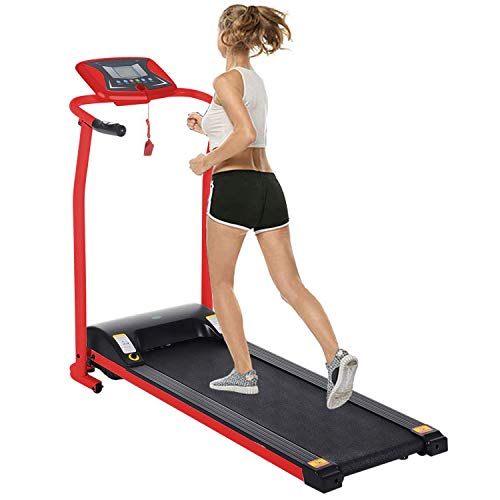 Big Save! Folding Treadmill Electric Motorized Power Walking Jogging Running Exercise Fitness Machin...