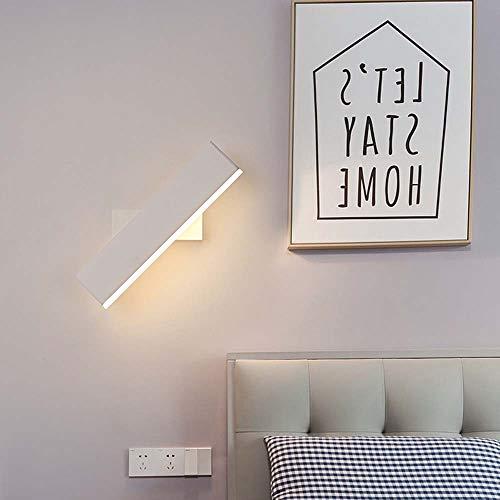 ETH eenvoudige en creatieve Led wandlamp binnen acryl verlichting slaapkamer nachtkastje gang gang muur lamp kan worden geroteerd elegante