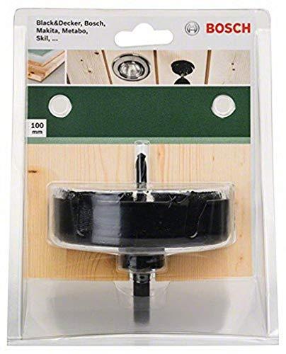BOSCH sierra de corona para lámparas de techo, Carbon 1/4 HEX, 100 mm, 2609256D13