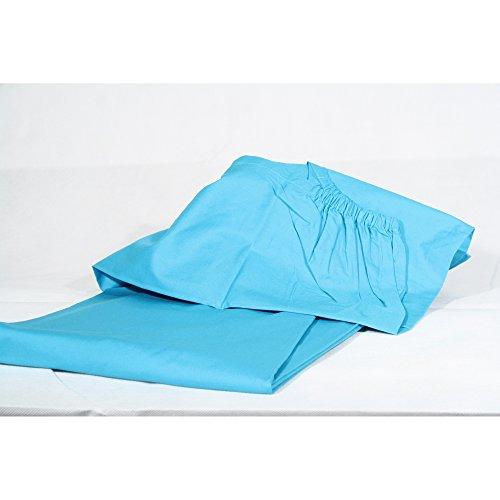 Ikea sábana bajera fanby en turquesa/petrol 90x 200cm