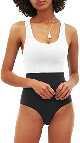 AngiMelo Womens Athletic One Piece Swimsuits...