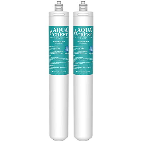 AQUA CREST I2000 2 Under Sink Water Filter, Replacement Cartridge for Everpure i2000, MC2, ESO7, MH2, EV9612-22, EV9612-56, EV9607-25, EV9613-21, Pack of 2