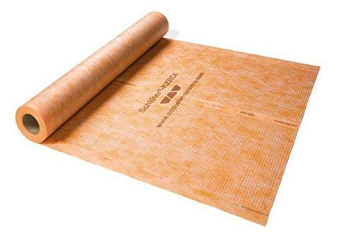 Great Features Of Schluter Kerdi 200 Waterproofing Membrane from 10 SQFT - 323 SQFT (30 SQFT)
