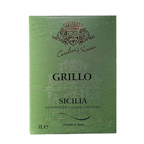Weißwein Italien Grillo Sicilia Bag-in Box trocken (1x5L)