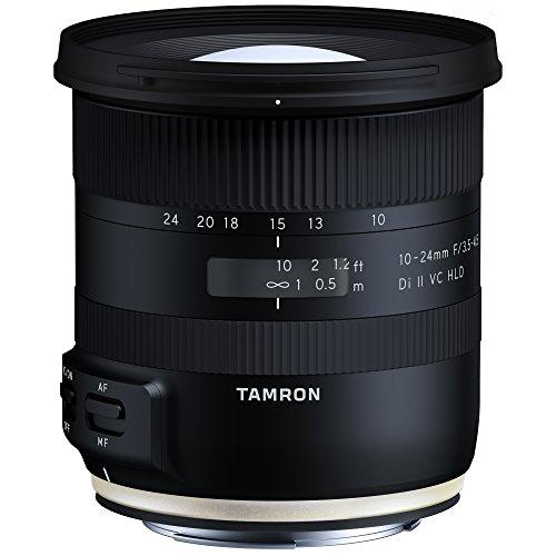 TAMRON Canon EF APS-C 10-24mm F/3.5-4.5 Di II VC HLD Canon Schwarz