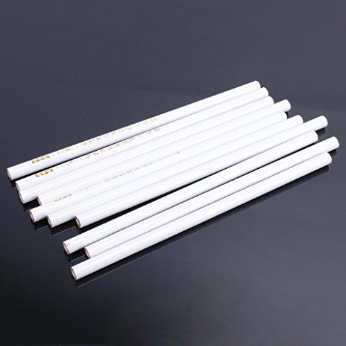 CUTICATE 10 X STRASS CRISTAL GEM Ramassage Picker Nail Art Pencil Picking Outil Blanc