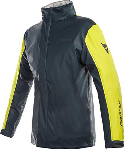 Dainese Storm Lady Jacket, Motorrad Damen packbare Regenjacke, mit reflektierenden Einsätzen