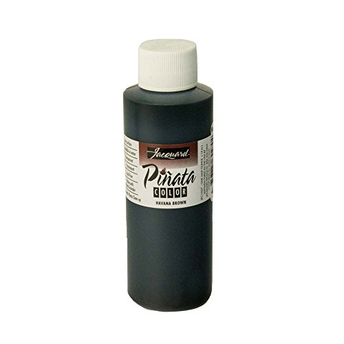 Pinata Havana Brown Alcohol Ink That by Jacquard, Professional and Versatile Ink That Produces Color-Saturated and Acid-Free Results, 4 Fluid Ounces, Made in The USA