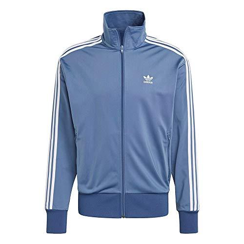 adidas FBIRD TT Sport Jacket, Crew Blue, L Men