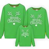 Weihnacht Pullover,Passende Familie Kleidung Baby Strampler Neujahr Weihnachten Winter Pullover Vater Mutter Kind Polar Fleece Männer Frauen Warmes Hemd-K_1ps Mann M