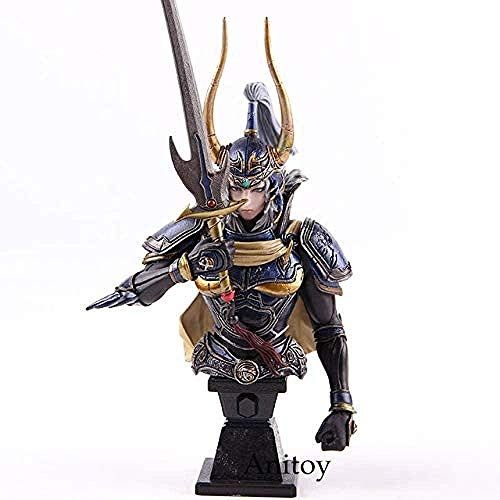 Paly Arts Kai Final Fantasy VII FF7 Light Warrior/Sephiroth Action Figure Bust Statue Collectible Model PVC Toy Light Warrior