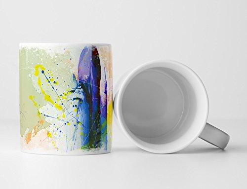 Nasa Rakete Tasse als Geschenk, Design Sinus Art