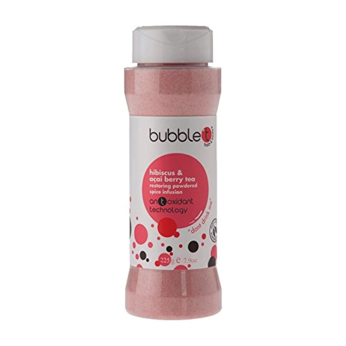 スペイン花スナップBubble T Bath Spice Infusion Hibiscus & Acai Berry Tea 225g (Pack of 2) - バブルトン風呂スパイス注入ハイビスカス&アサイベリー茶225グラム (x2) [並行輸入品]
