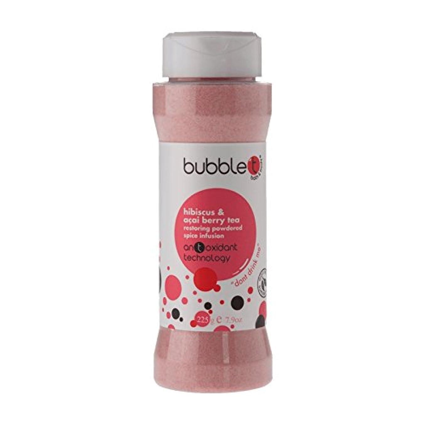 責めるふくろうパースブラックボロウBubble T Bath Spice Infusion Hibiscus & Acai Berry Tea 225g (Pack of 6) - バブルトン風呂スパイス注入ハイビスカス&アサイベリー茶225グラム (x6) [並行輸入品]