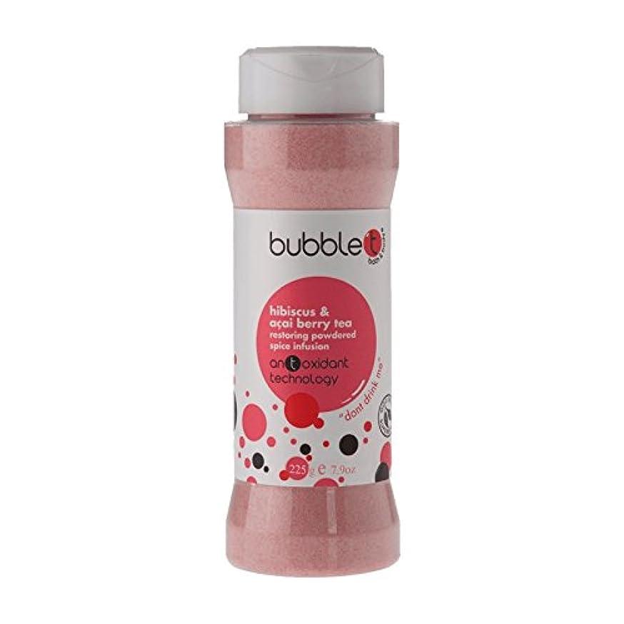 子羊トライアスリートトークBubble T Bath Spice Infusion Hibiscus & Acai Berry Tea 225g (Pack of 6) - バブルトン風呂スパイス注入ハイビスカス&アサイベリー茶225グラム (x6) [並行輸入品]