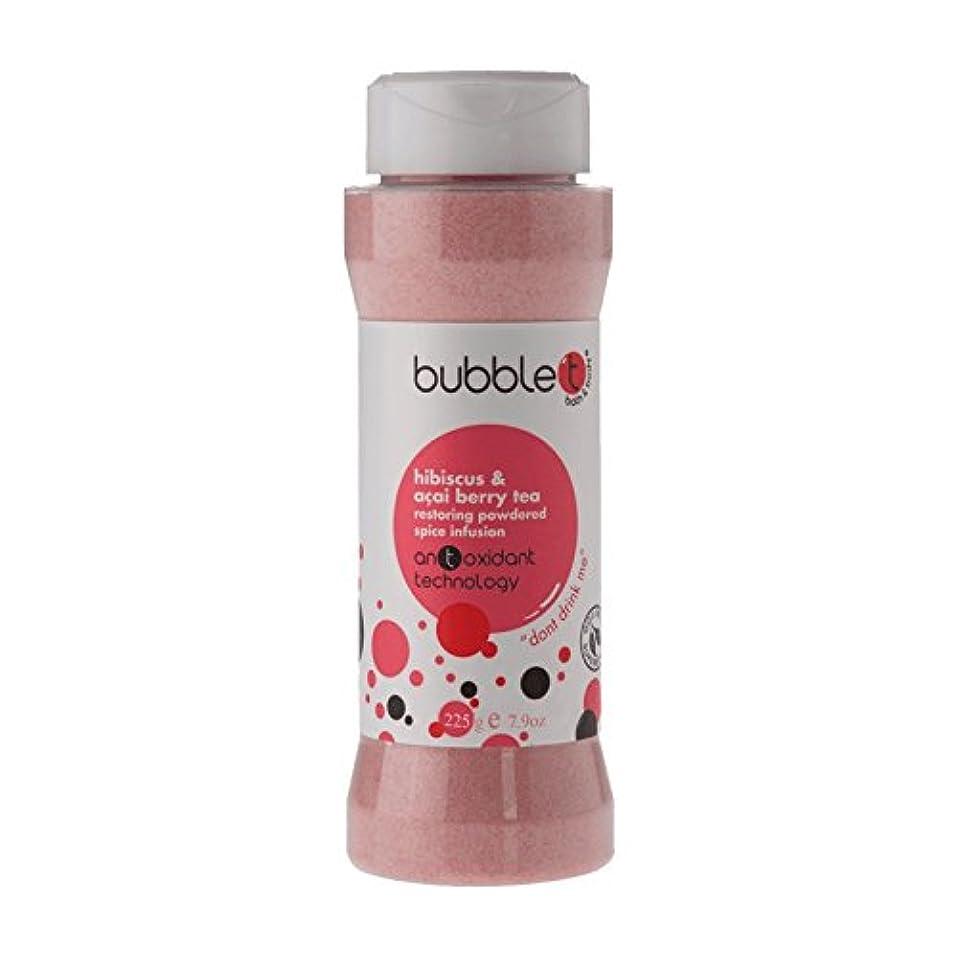 考古学的な鷲メンダシティBubble T Bath Spice Infusion Hibiscus & Acai Berry Tea 225g (Pack of 2) - バブルトン風呂スパイス注入ハイビスカス&アサイベリー茶225グラム (x2) [並行輸入品]