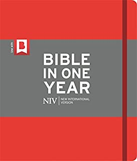 NIV Journalling Bible in One Year: Red