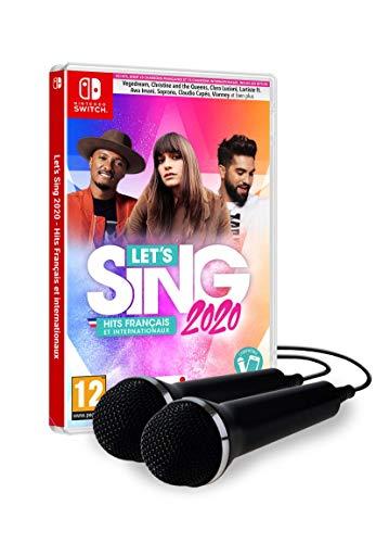 Let's Sing 2020 : Hits Français et Internationaux 2 Mics pour Nintendo Switch