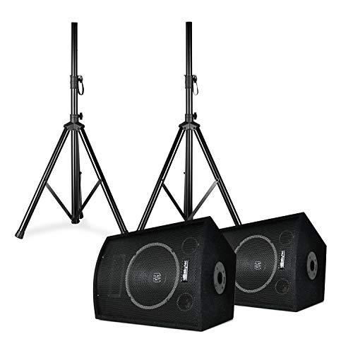 Altavoces de discoteca con trípode modelo SL10 de Skytec