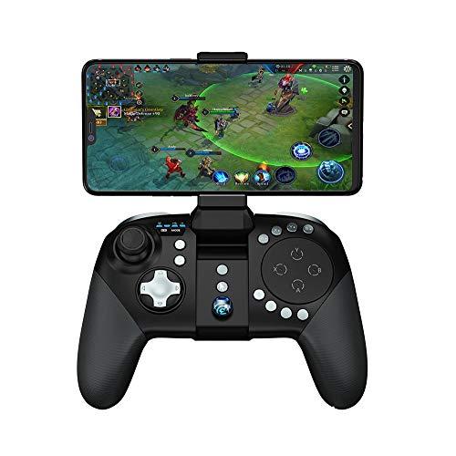 SMDFDN Contrôleur de Jeu Bluetooth, pavé Tactile MOBA/FPS, poignée de Manette de Jeu sans Fil for 33 Touches for Manette de Jeu Portable Android