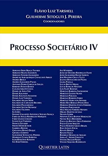 Processo Societário - Volume 4