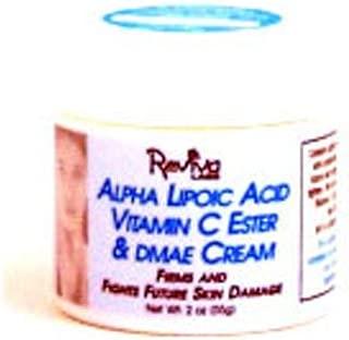 Reviva Labs Alpha Lipoic Acid Vitamin C Ester and DMAE Cream, 2 Ounce - 3 per case.