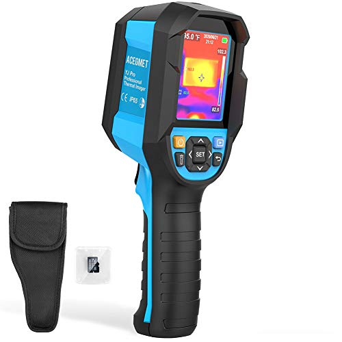 Thermal Imager, Acegmet 160 x 120 Handheld 19200 Pixels Thermal Camera with IP65 Waterproof Thermal Imaging Camera, 2 Meter Drop Durability, 2.8