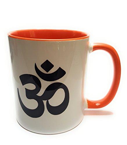 Dreamlife OM - Taza de café y té con tarjeta de regalo (hindus, jainas, budistas)