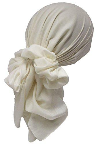 Deresina Headwear Deresina Headwear Frauenalltags Weiche Quadratisch Kopftücher (Cream)