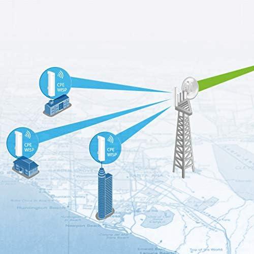 TP-LINK TL-ANT2415MS - Antena Sectorial para Exterior de 2.4 GHz (15 dBi 2x2 MIMO, 2 Conectores RP-SMA, Ancho de Haz de 90º, Aplicaciones Punto a ...