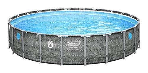 Coleman 22' x 52' Power Steel Swim Vista II Swimming Pool Set