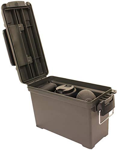 AB Robuste Munitions- und Werkzeugkiste aus Kunststoff (Oliv/Kaliber 30) - 6