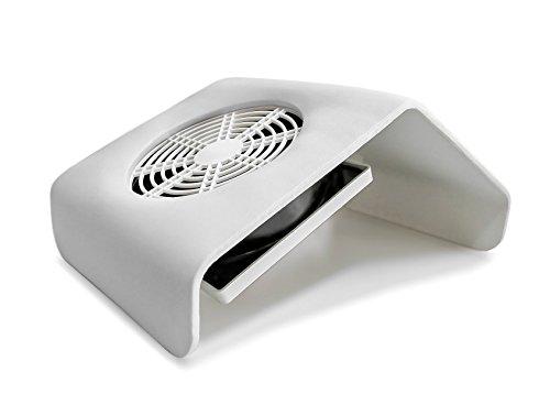 LOVECRAZY - Aspiradores de Polvo para Uñas, Succión Colector de Polvo, Aparatos Eléctricos Profesional para Manicura y Pedicura [Clase de eficiencia energética A+++]