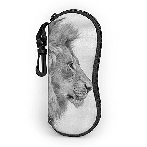 AOOEDM Wildlife Lion - Funda blanda para gafas de sol (neopreno), diseño de león