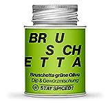 Bruschetta grüne Olive von STAY SPICED ! Mediterrane Gewürzmischung I Verpackt in 170 ml Weißblechdose