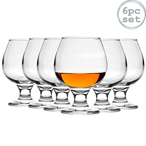 Argon Tableware Copas de balón para Brandy/coñac - 390ml - Pack de 6
