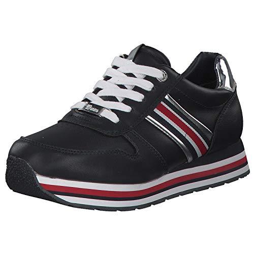 TOM TAILOR Sneaker Damen Sneaker Sportschuh Freizeitschuh Blau Navy in versch. Größen 8095501 Blau (Navy) 40 EU