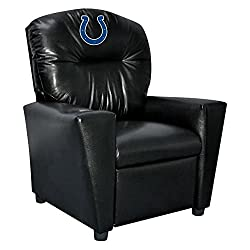 NFL Indianapolis Colts Tween Faux Leather Recliner