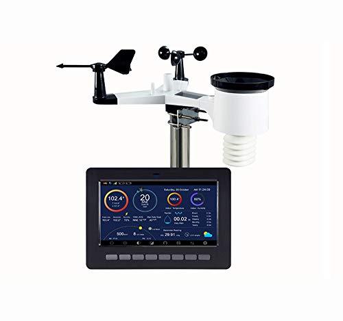 X-Home Profesional Estacion Meteorologica, Sensor Inalámbrico Solar 7 En 1...
