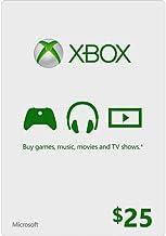Microsoft Xbox Gift Card $25 (Physical Card)