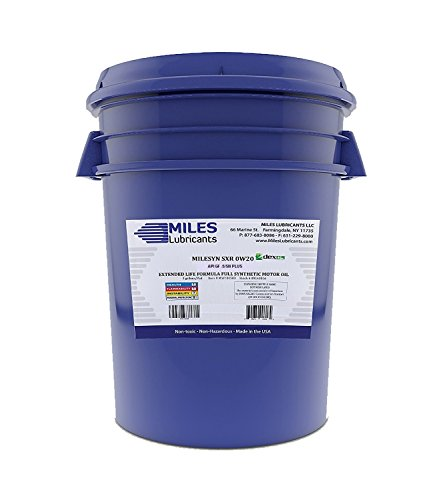 MILESYN SXR 0W20, Full Synthetic DEXOS1 GEN2, API GF-5/SN Plus, 5 Gallon Pail