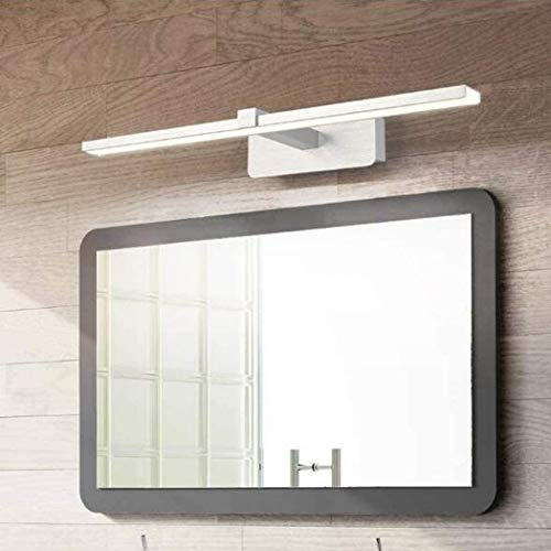 Lámpara de baño anti-niebla anti-niebla anti-niebla de espejo led anti-niebla lámpara de pared de maquillaje acrílico, plata, baño, luces de tocador de baño, accesorios de iluminación de inodoro
