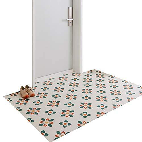 ZWRYW Vloermatten, textiel, deurmats, tapijten, huisingang, 2 mm dik, antislip, praktische bekleding voor balkon, binnen op maat te snijden