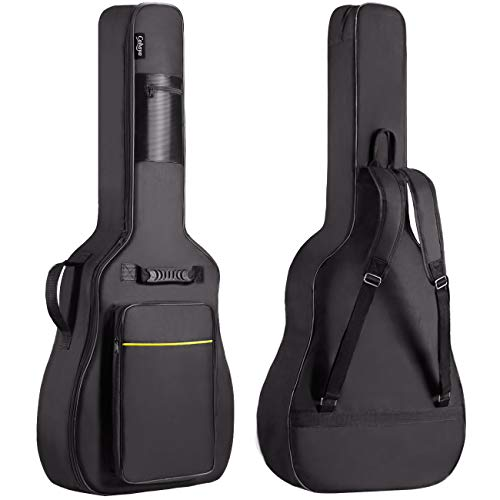 CAHAYA Gitarrentasche Akustikgitarre Gig Bag Guitar Case wasserdicht gepolsterte Gitarre Rucksack Soft Case(verbesserte Version)